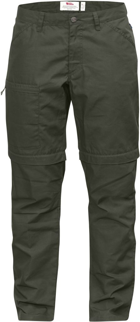 FjallRaven High Coast Trousers Zip-Off W Mountain Grey-30