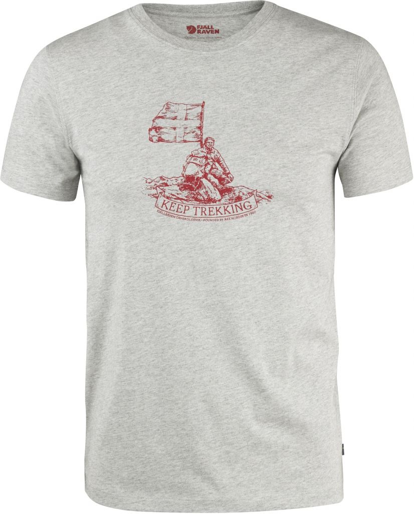 FjallRaven Keep Trekking T-Shirt Grey-30
