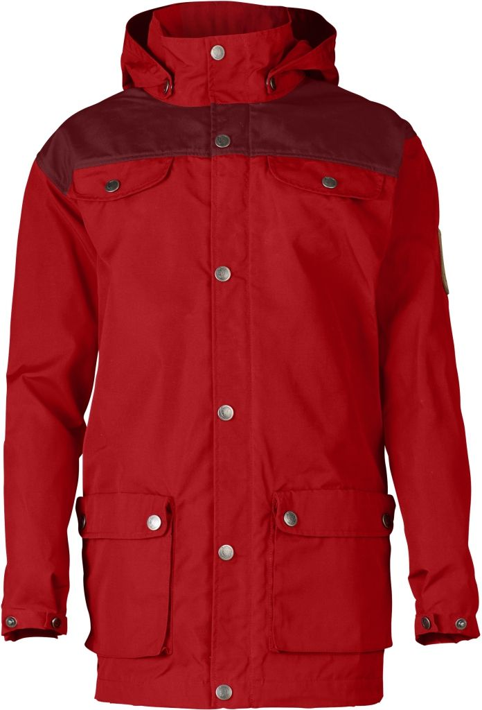 FjallRaven Kids Greenland Jacket Red-Ox Red-30