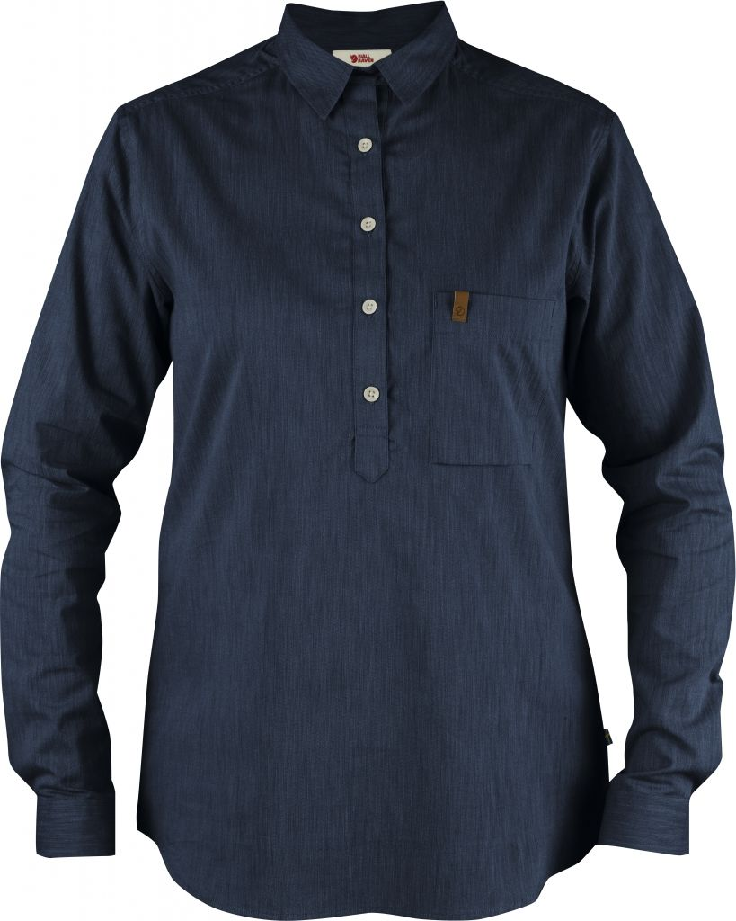 FjallRaven Kiruna Shirt LS W. Navy-30