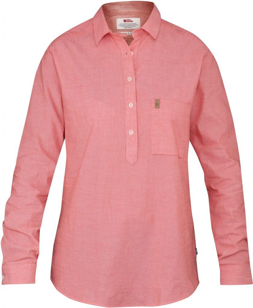 FjallRaven Kiruna Shirt LS W. Hibiscus-30