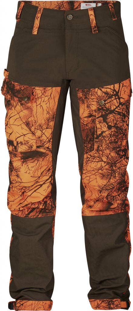 FjallRaven Lappland Hybrid Trousers Camo Orange Camo-30
