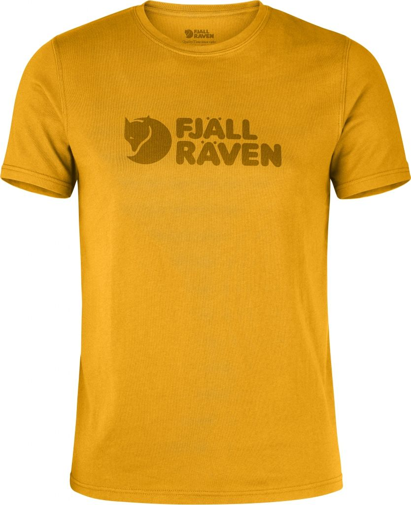 FjallRaven Logo T-shirt Campfire Yellow-30