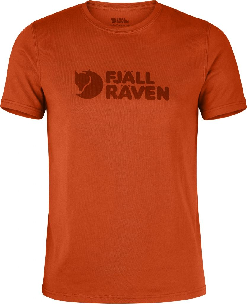 FjallRaven Logo T-shirt Flame Orange-30