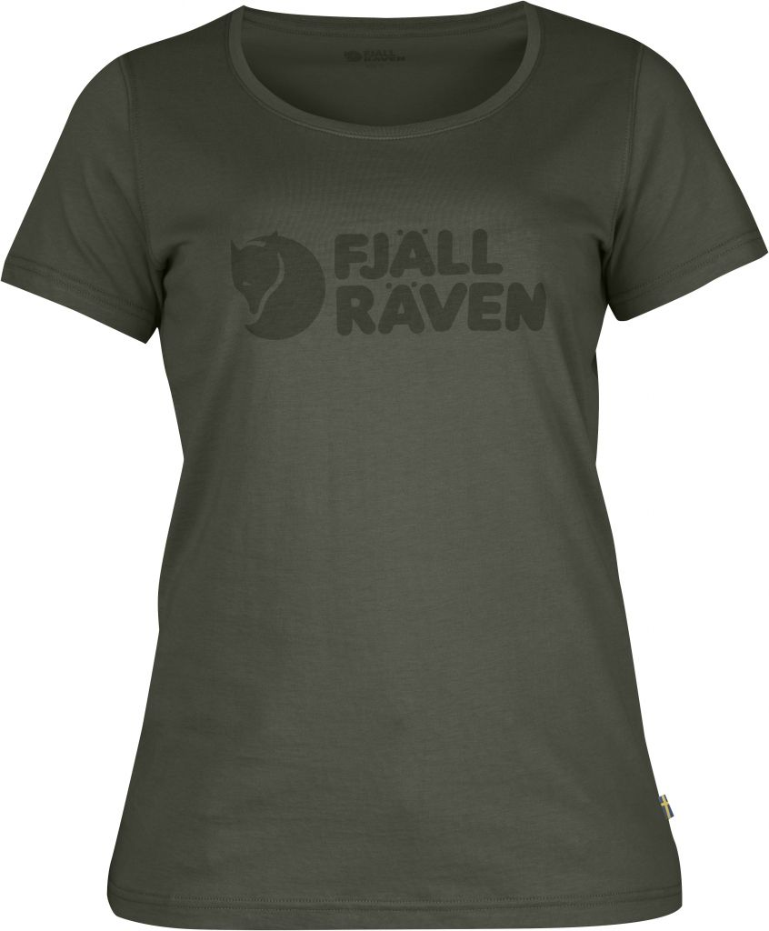 FjallRaven Logo T-Shirt W. Mountain Grey-30
