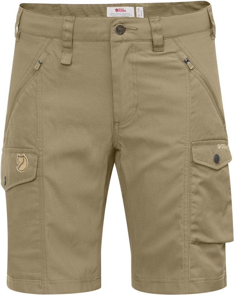 FjallRaven Nikka Shorts Curved Sand-30