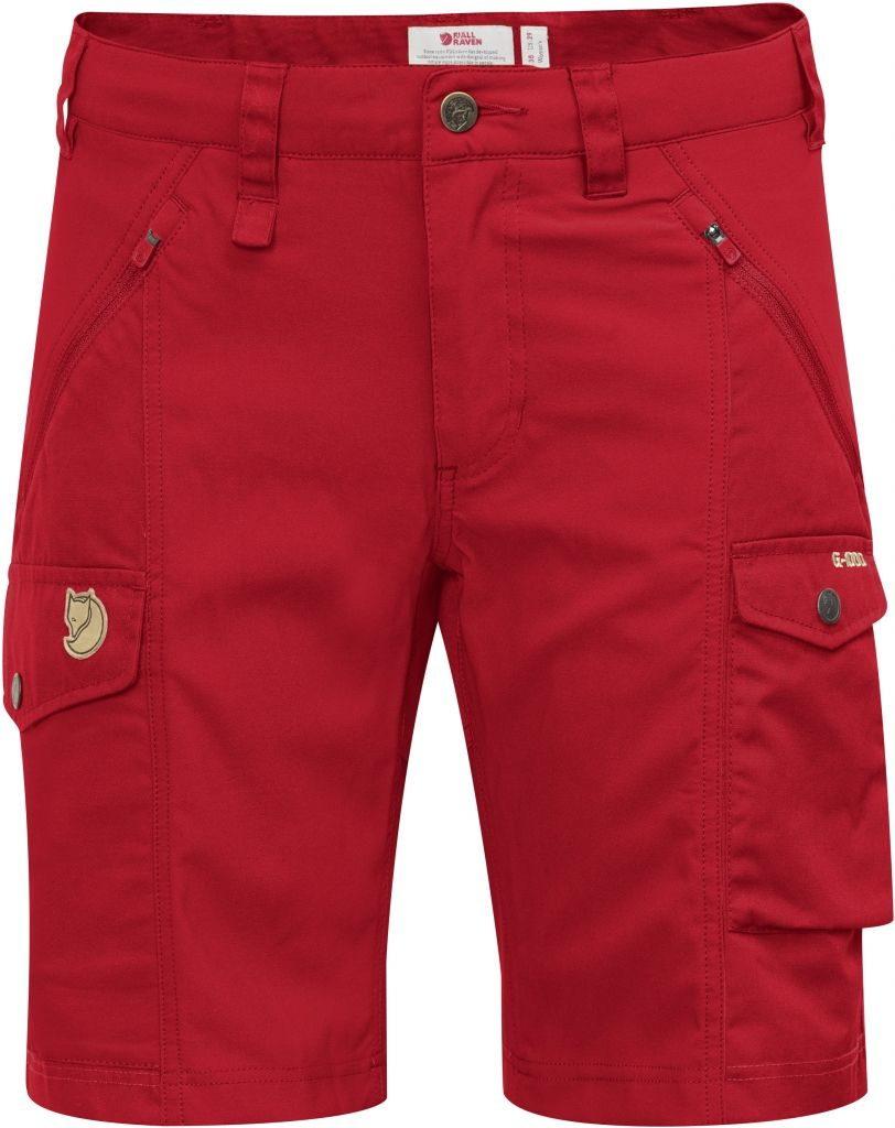 FjallRaven Nikka Shorts Curved Red-30