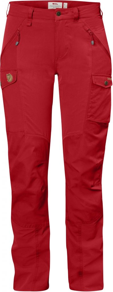 FjallRaven Nikka Curved Trousers Red-30