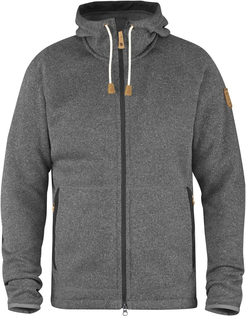 FjallRaven Övik Fleece Hoodie Dark Grey-30