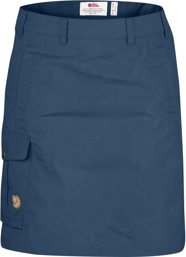 FjallRaven Övik Skirt Uncle Blue-30