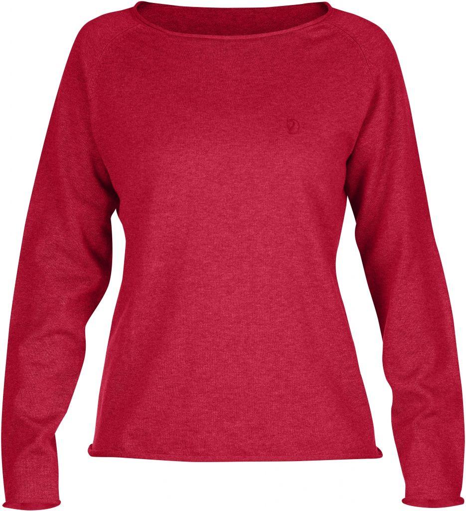 FjallRaven Övik Sweater W. Coral-30