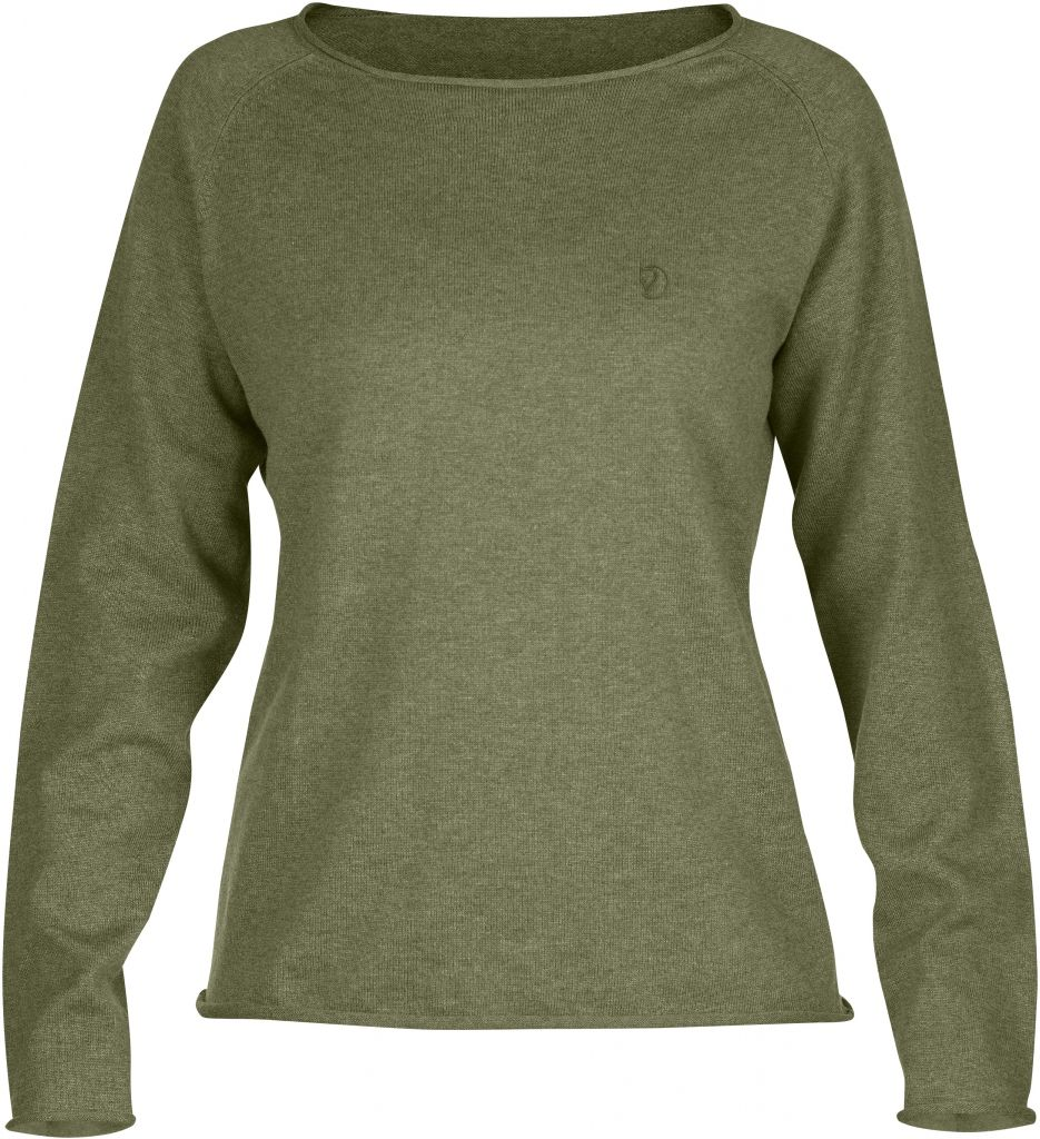 FjallRaven Övik Sweater W. Green-30