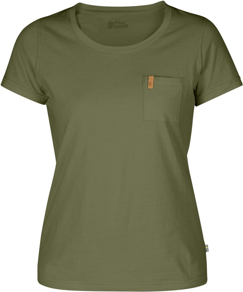 FjallRaven Övik T-shirt W. Green-30