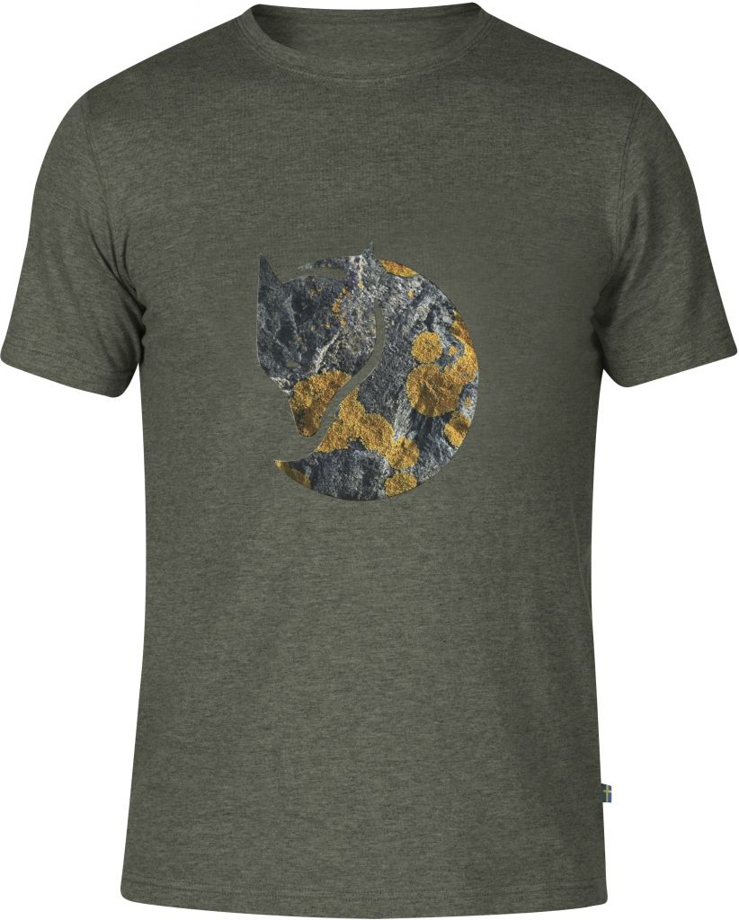 FjallRaven Rock Logo T-shirt Mountain Grey-30