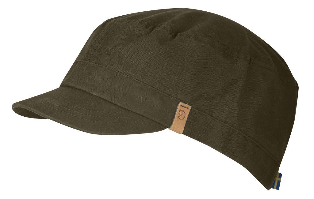 FjallRaven Sarek Trekking Cap Dark Olive-30