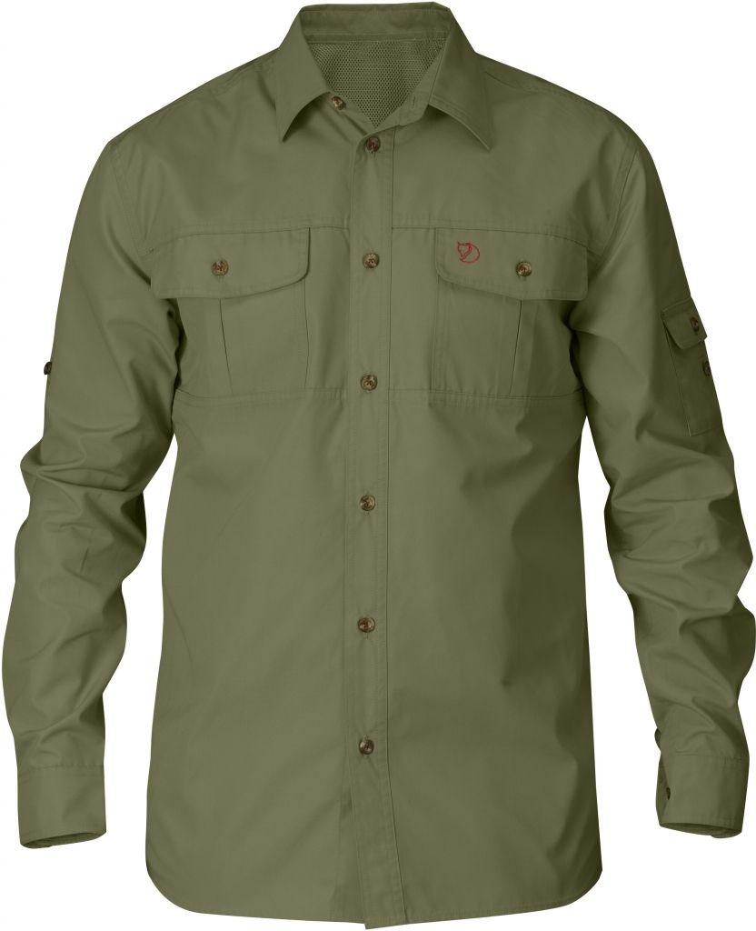 FjallRaven Sarek Trekking Shirt Green-30