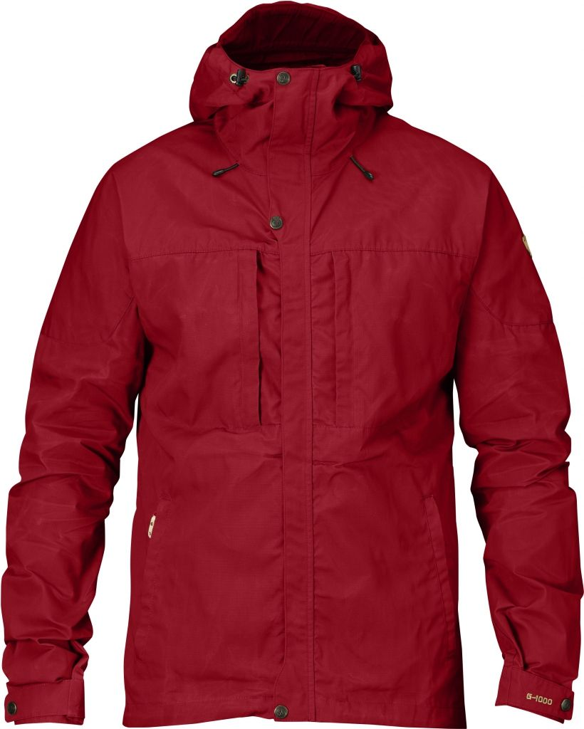 FjallRaven Skogsö Jacket Deep Red-30
