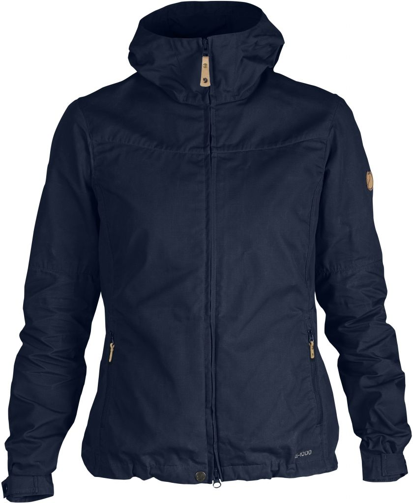 FjallRaven Stina Jacket Dark Navy-30