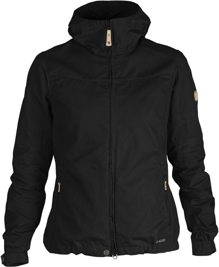 FjallRaven Stina Jacket Black-30