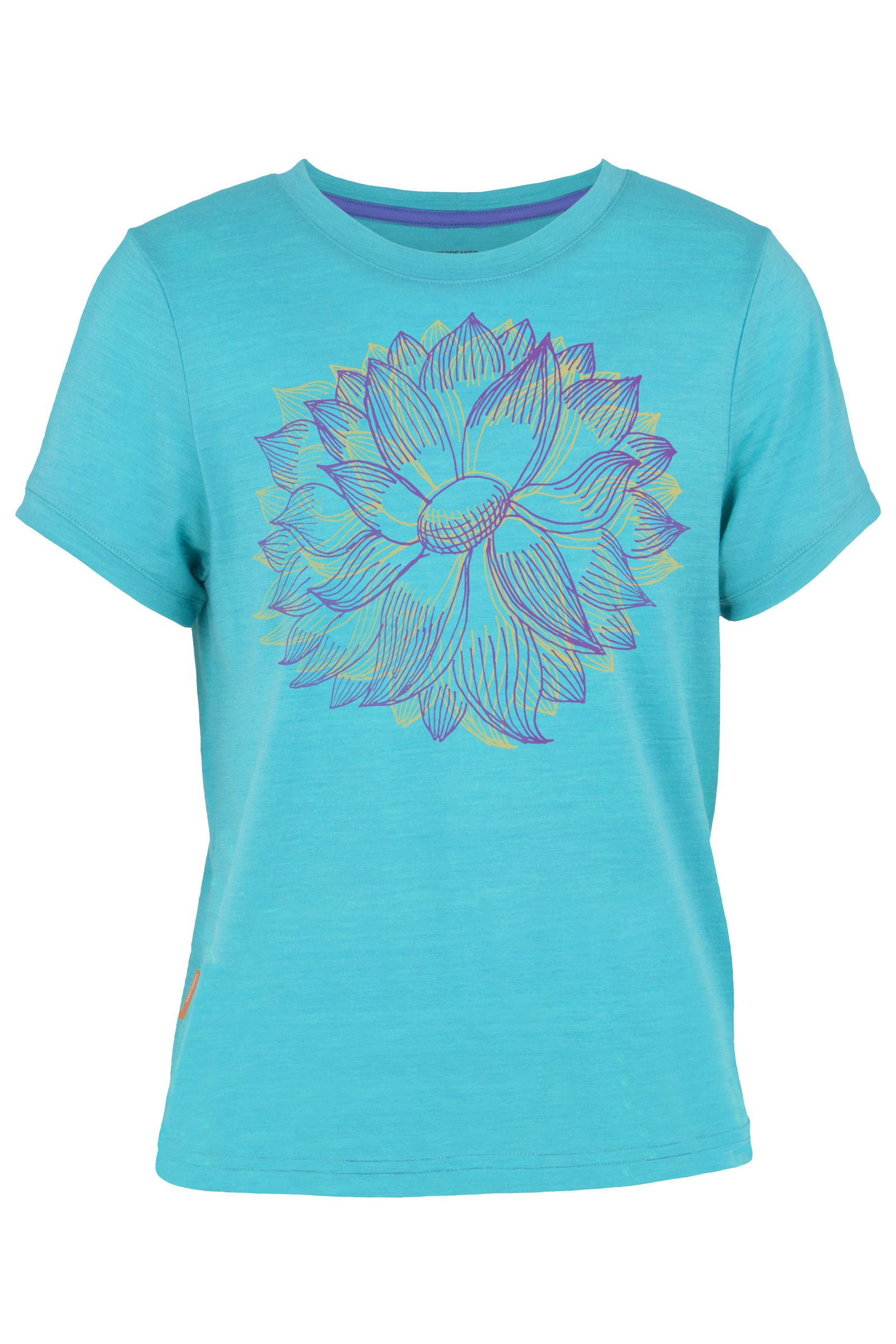 Icebreaker - Kids Tech Lite SS Lotus Aquamarine - T-Shirts - 8