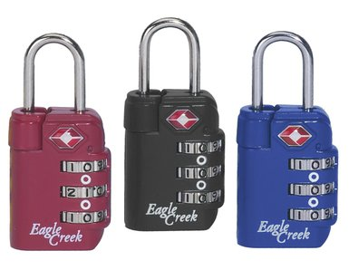 Travel Safe TSA Lock Cherry Red-30