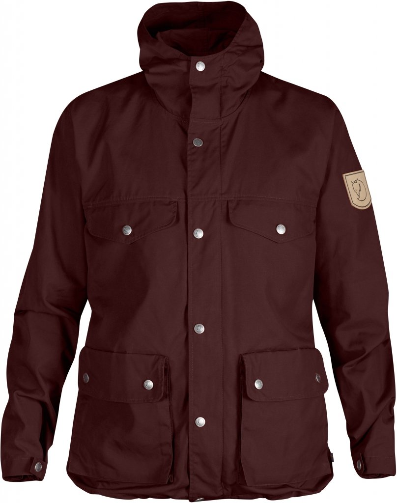 FjallRaven Greenland Jacket W. Burnt Red-30