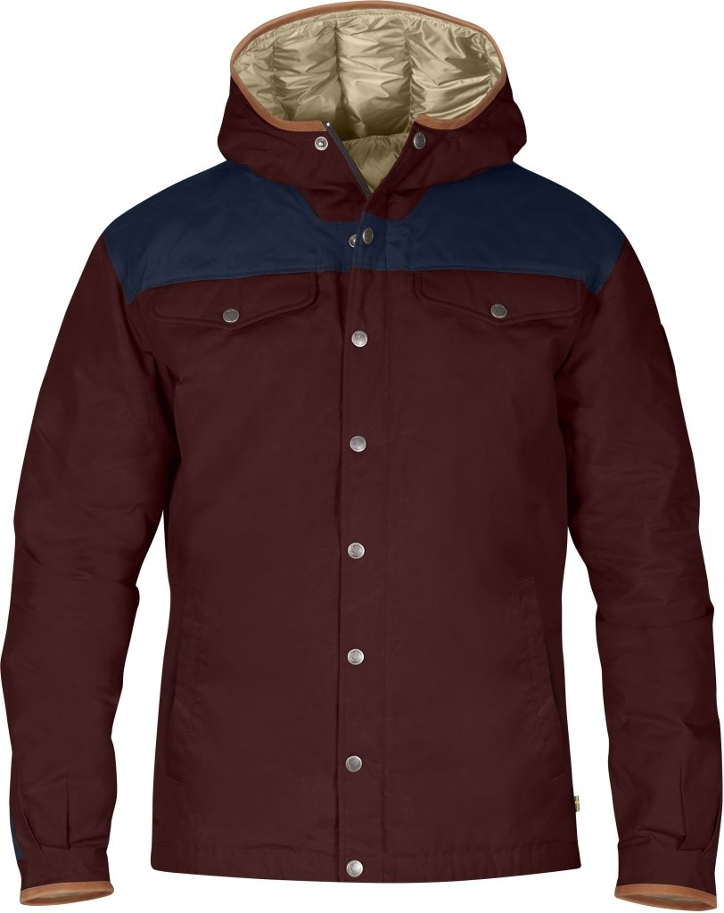 FjallRaven Greenland No.1 Down Jacket Burnt Red-30