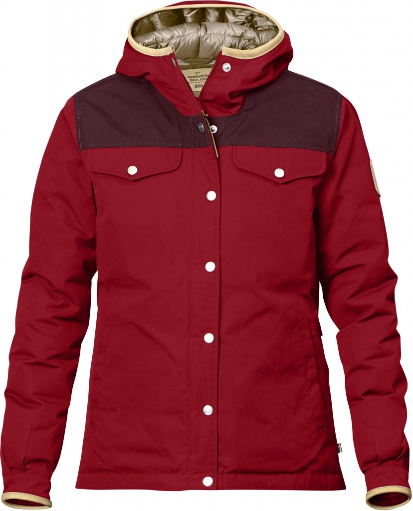 FjallRaven Greenland No.1 Down Jacket W Deep Red-30