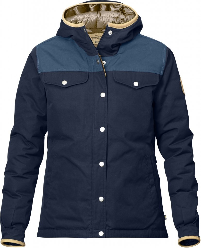 FjallRaven Greenland No.1 Down Jacket W Dark Navy-30