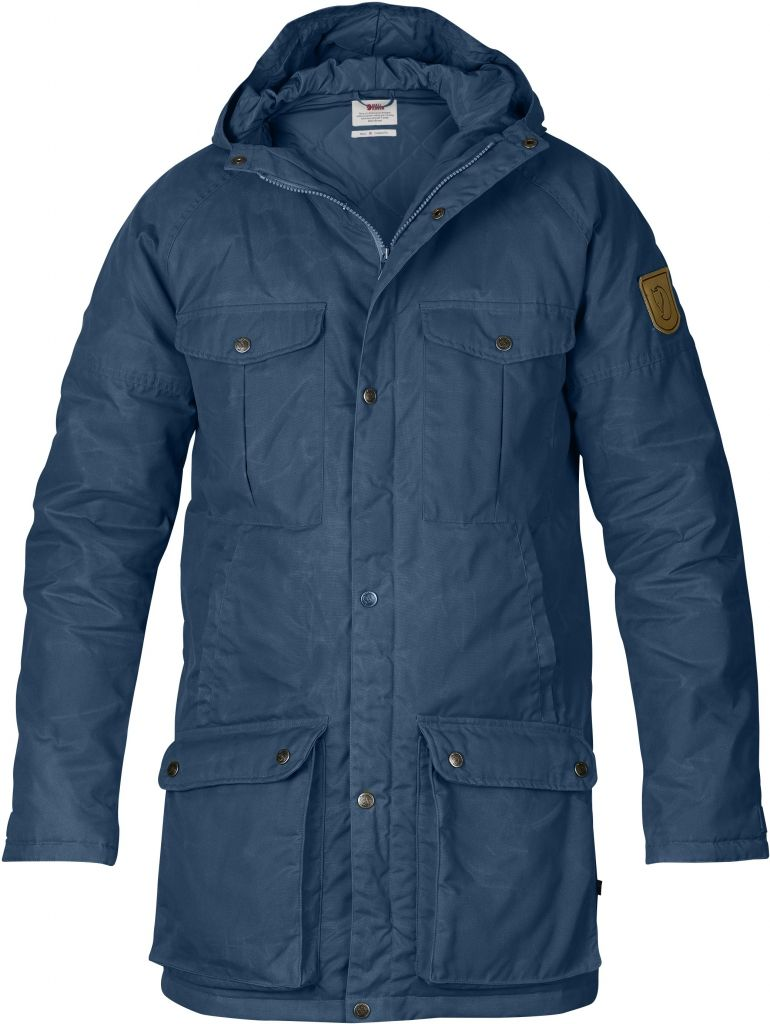 FjallRaven Greenland Parka Uncle Blue-30