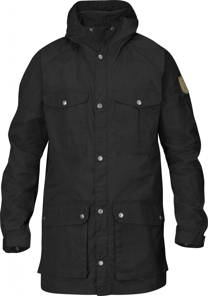 FjallRaven Greenland Parka Light Black-30