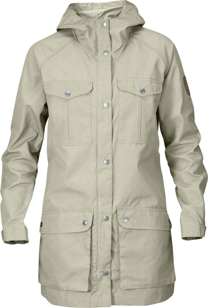FjallRaven Greenland Parka Light Women Light Beige-30