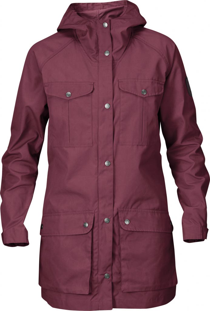 FjallRaven Greenland Parka Light Women Wild Ginger-30