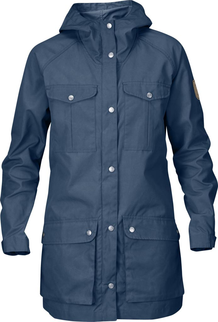 FjallRaven Kiruna Anorak W. Uncle Blue-30