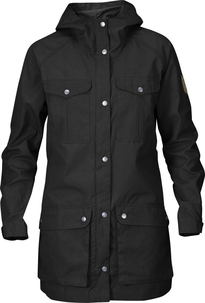 FjallRaven Greenland Parka Light Women Black-30