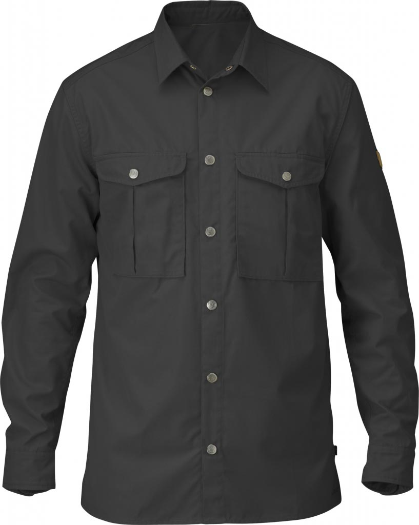 FjallRaven Greenland Shirt Dark Grey-30