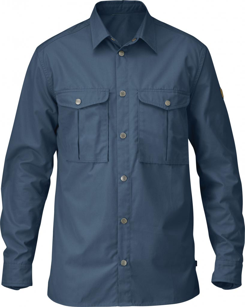 FjallRaven Greenland Shirt Uncle Blue-30