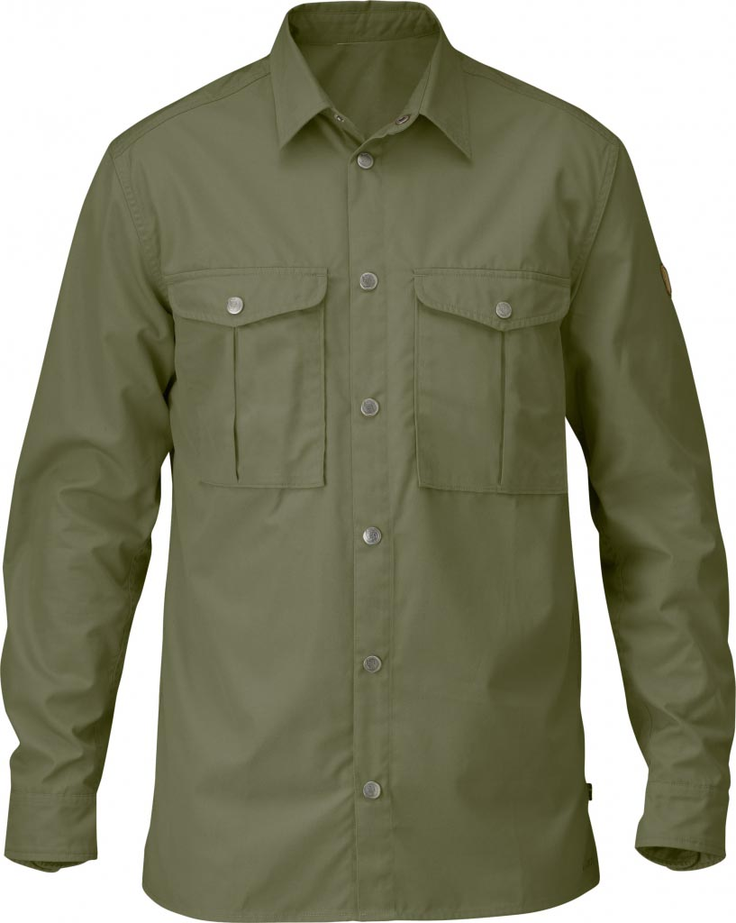 FjallRaven Greenland Shirt Green-30