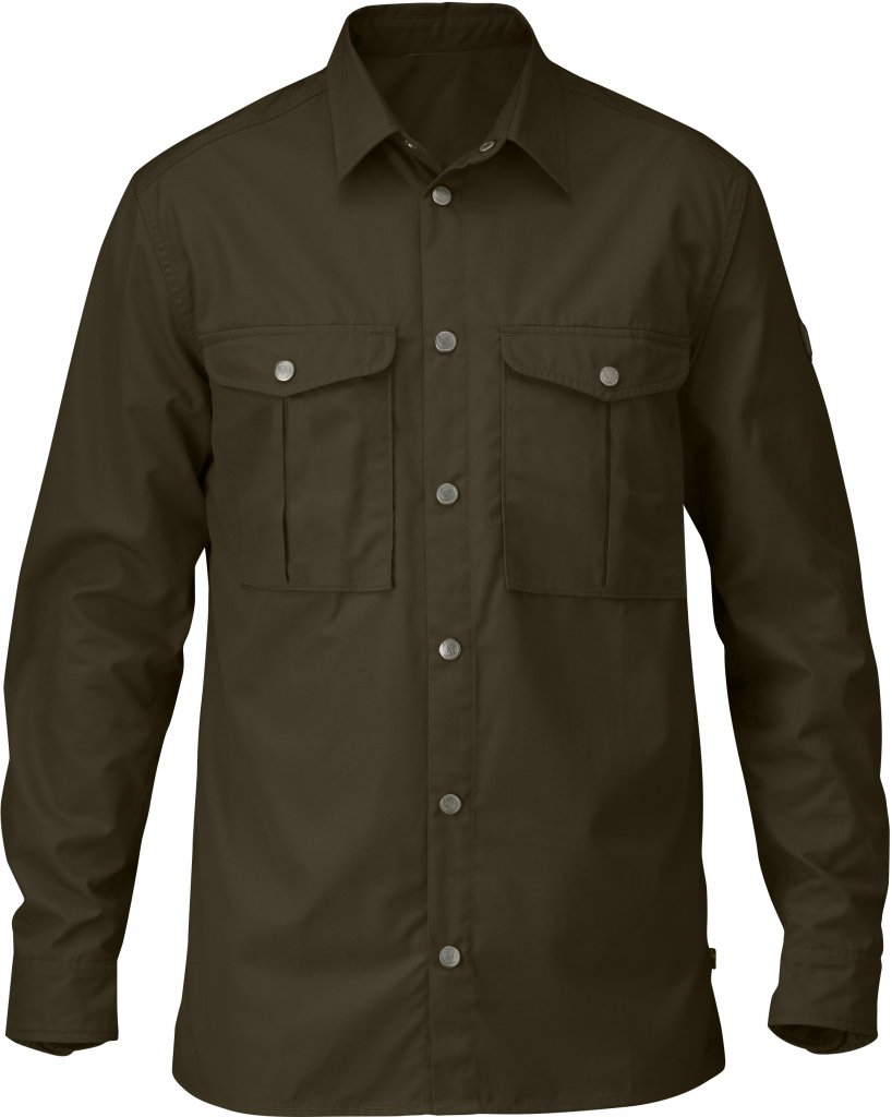 FjallRaven Greenland Shirt Dark Olive-30