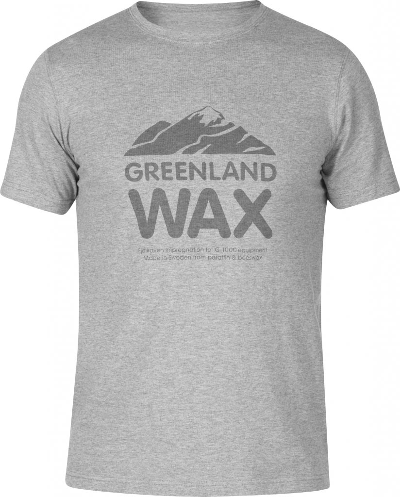 FjallRaven Greenland Wax T-shirt Grey-30