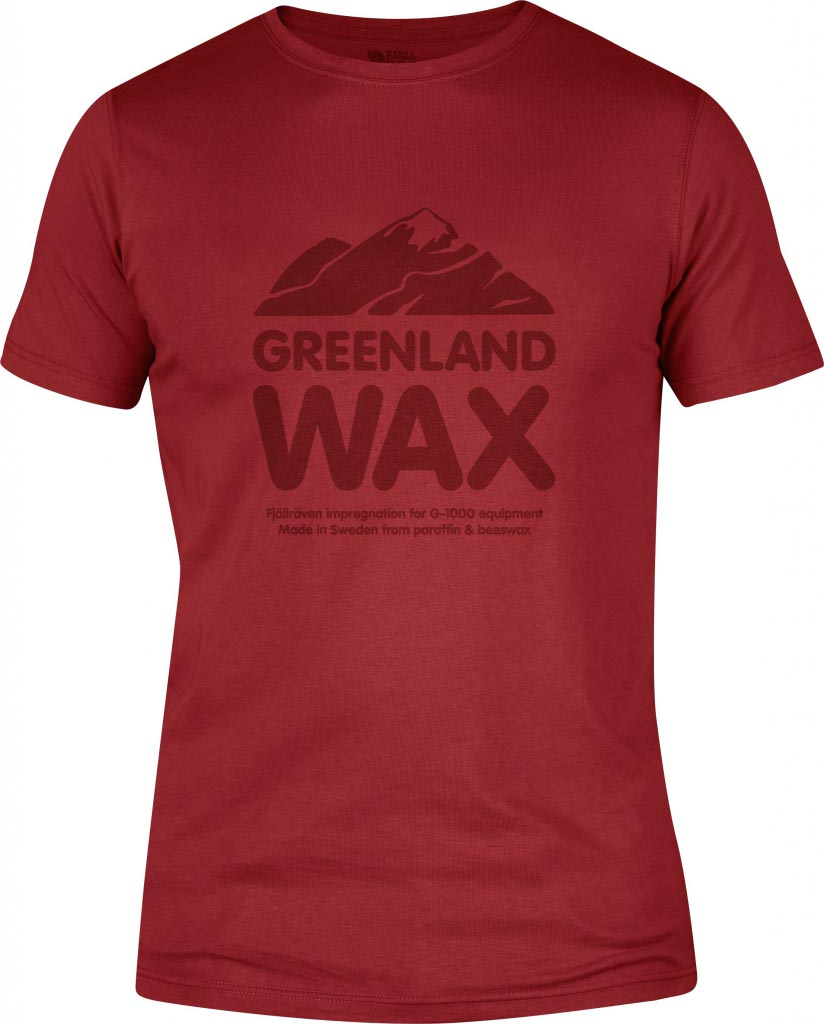 FjallRaven Greenland Wax T-shirt Deep Red-30