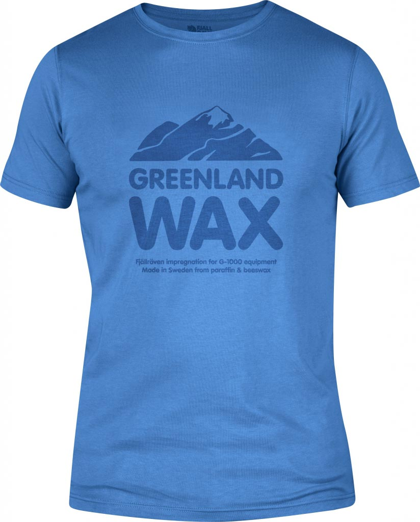 FjallRaven Greenland Wax T-shirt UN Blue-30