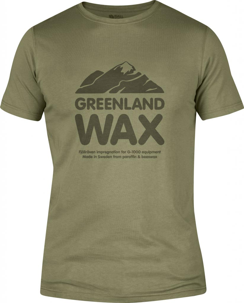 FjallRaven Greenland Wax T-shirt Green-30