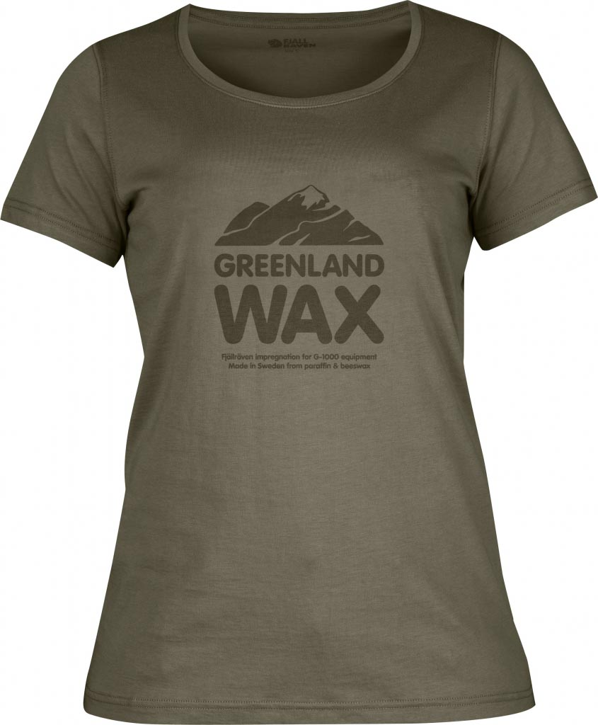 FjallRaven Greenland Wax T-shirt W. Tarmac-30