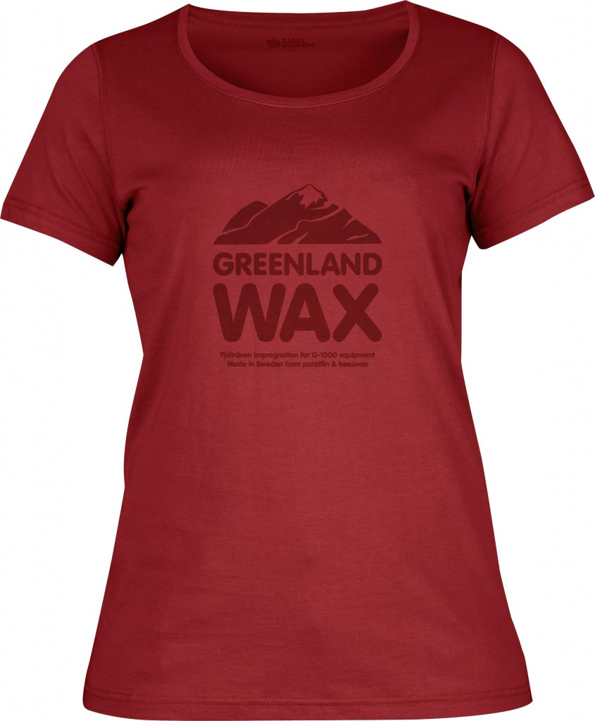 FjallRaven Greenland Wax T-shirt W. Deep Red-30