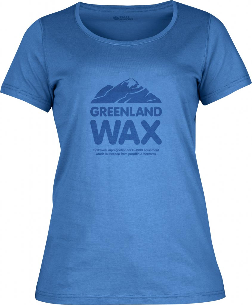 FjallRaven Greenland Wax T-shirt W. UN Blue-30