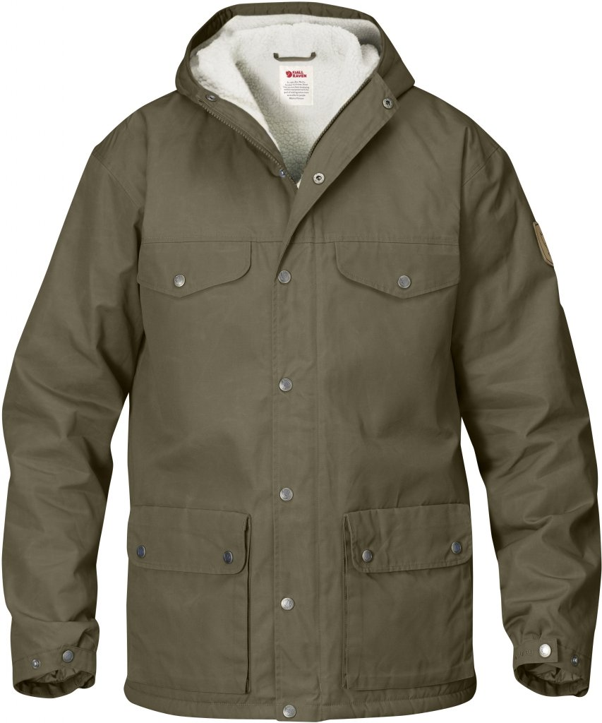 FjallRaven - Greenland Winter Jacket Taupe - Isolation & Winter Jackets - XS