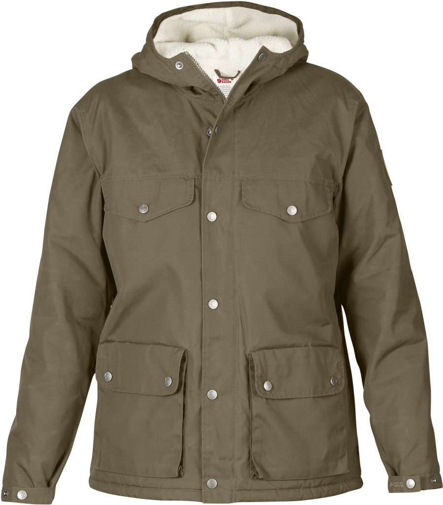 FjallRaven Greenland Winter Jacket W. Taupe-30