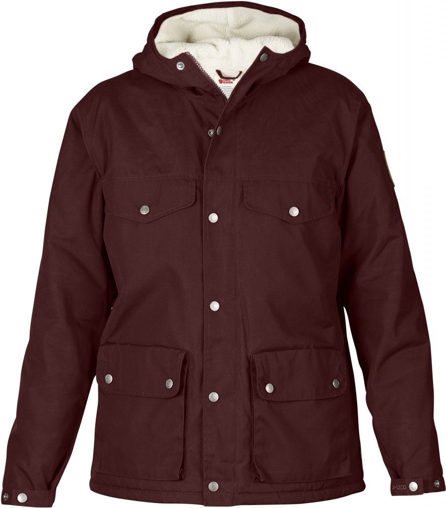 FjallRaven Greenland Winter Jacket W. Burnt Red-30