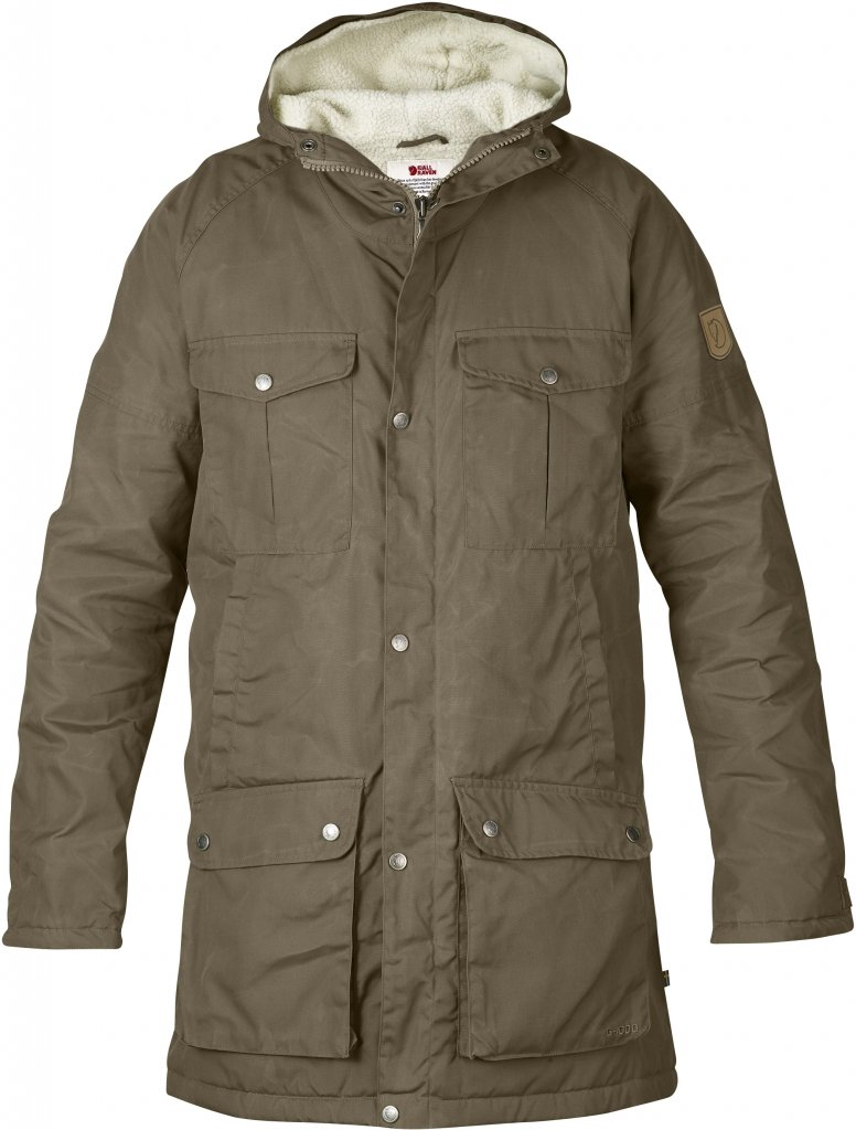 FjallRaven - Greenland Winter Parka Taupe - Isolation & Winter Jackets - S